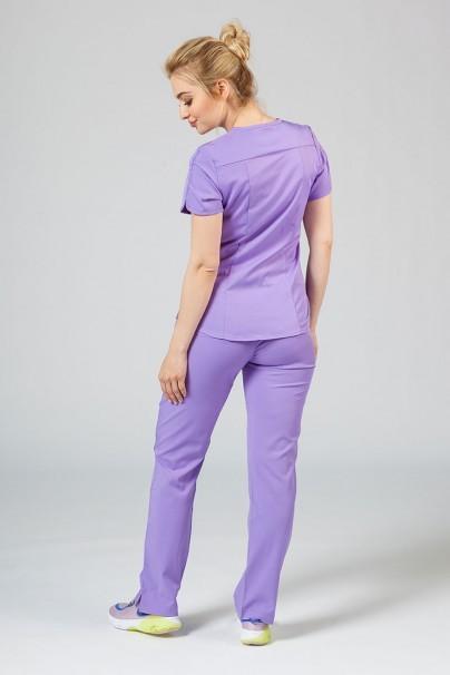 komplety-medyczne-damskie Komplet medyczny Adar Uniforms Yoga lawendowy (z bluzą Modern - elastic)