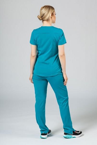 komplety-medyczne-damskie Komplet medyczny Adar Uniforms Yoga morski błękit (z bluzą Modern - elastic)