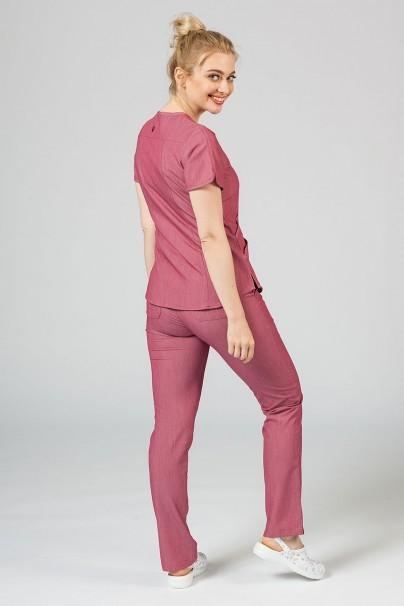 komplety-medyczne-damskie Komplet medyczny Adar Uniforms Yoga wrzosowy (z bluzą Modern - elastic)