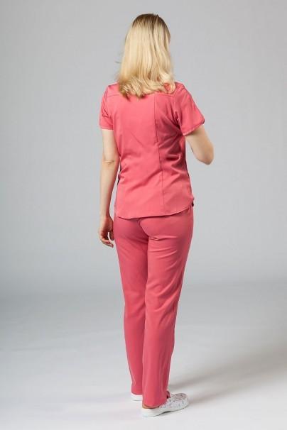 komplety-medyczne-damskie Komplet medyczny Adar Uniforms Yoga różowy (z bluzą Modern - elastic)