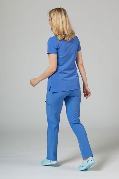komplety-medyczne-damskie Komplet medyczny Adar Uniforms Cargo klasyczny błękit (z bluzą Notched - elastic)