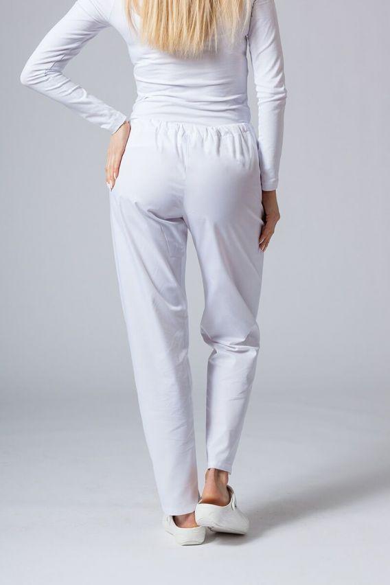 spodnie-medyczne-damskie Spodnie medyczne uniwersalne Sunrise Uniforms białe