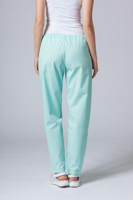 spodnie-medyczne-damskie Spodnie medyczne uniwersalne Sunrise Uniforms miętowe