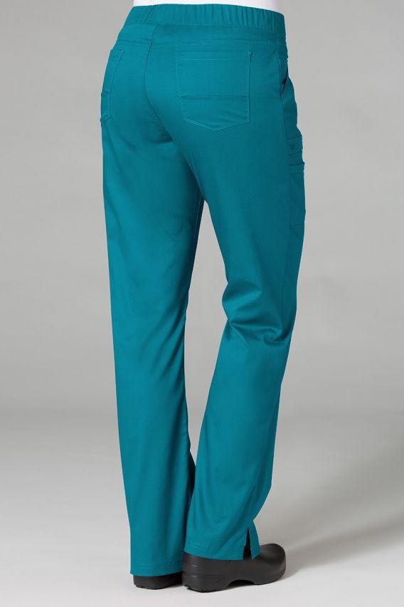 spodnie-medyczne-damskie Spodnie medyczne damskie Maevn PrimaFlex morski błękit