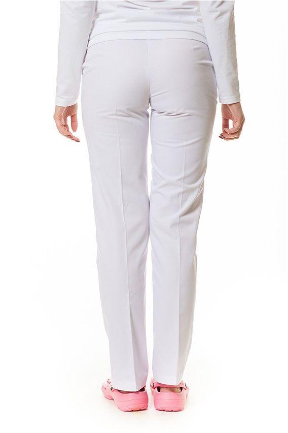 spodnie-medyczne-damskie Spodnie damskie Vena białe