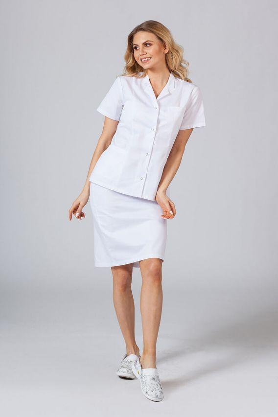 zakiety Żakiet z kołnierzem Sunrise Uniforms biały