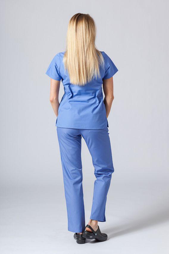 bluzy-medyczne-damskie Bluza damska Maevn Red Panda klasyczny błękit