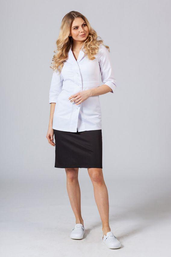 zakiety Żakiet (rękaw 3/4) Sunrise Uniforms biały