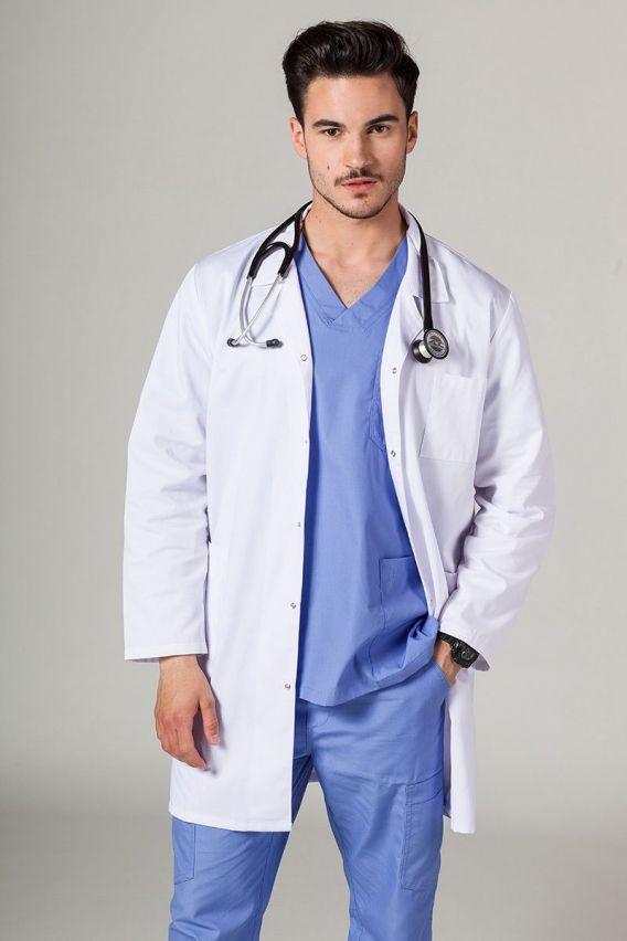 fartuchy-medyczne-meskie Fartuch Medyczny Klasyczny Sunrise Uniforms Biały