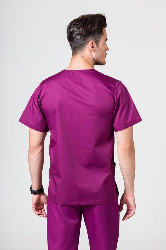 bluzy-medyczne-meskie Bluza medyczna uniwersalna Sunrise Uniforms jasna oberżyna