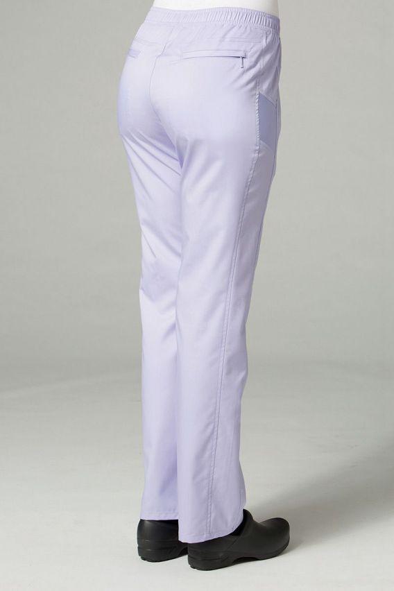 spodnie-medyczne-damskie Spodnie damskie Maevn EON Sporty Mesh lawendowe