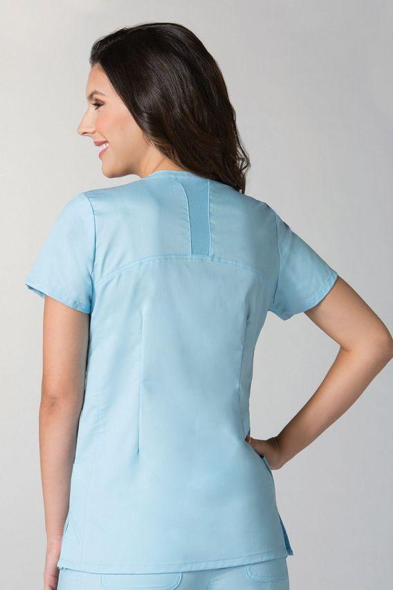 bluzy-medyczne-damskie Bluza damska Maevn EON Classic błękitna