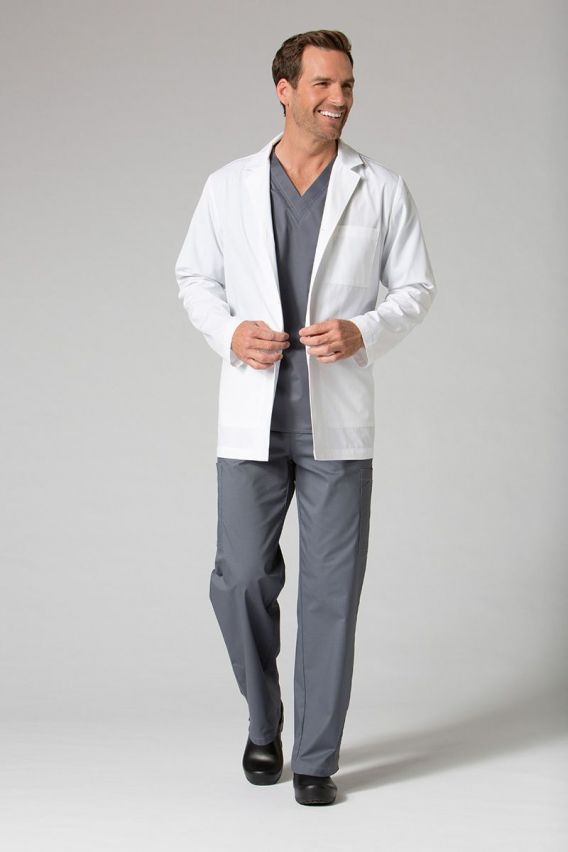 fartuchy-medyczne-meskie Fartuch medyczny męski Maevn Red Panda biały