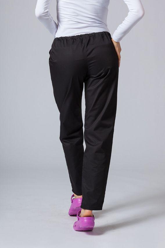 spodnie-medyczne-damskie Spodnie medyczne uniwersalne Sunrise Uniforms czarne