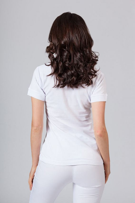 polo-damskie Koszulka damska Polo biała