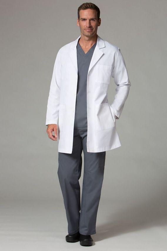 fartuchy-medyczne-meskie Fartuch medyczny uniwersalny Maevn biały