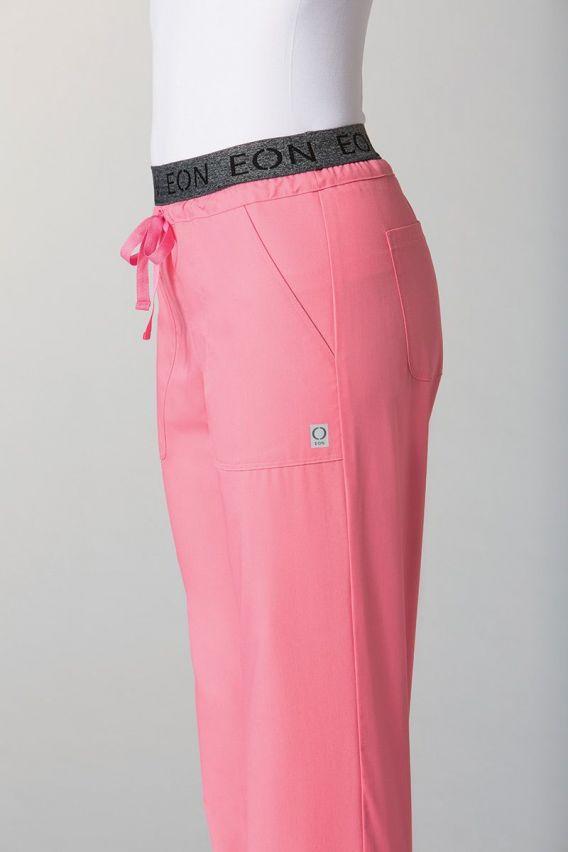 spodnie-medyczne-damskie Spodnie damskie Maevn EON Style Różowe