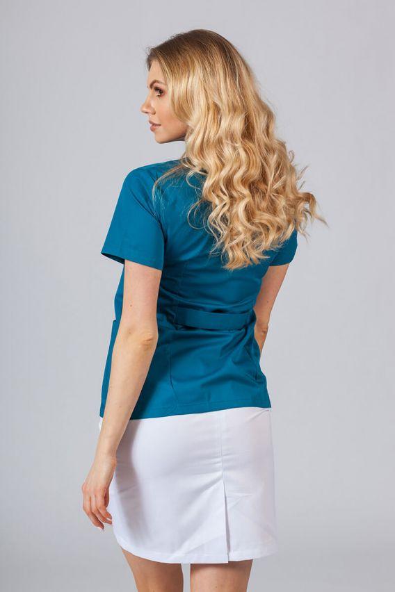 zakiety Żakiet ze stójką Sunrise Uniforms Karaibski Błękit