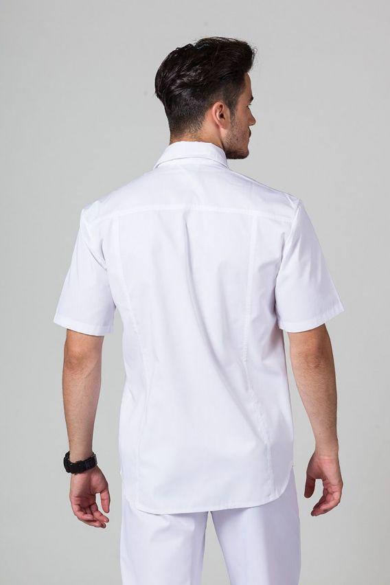bluzy-medyczne-meskie Klasyczna bluza medyczna męska biała