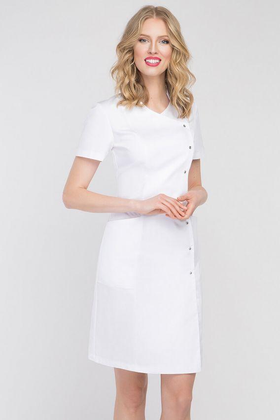 fartuchy-medyczne-damskie Fartuch medyczny Vena Niveo biały