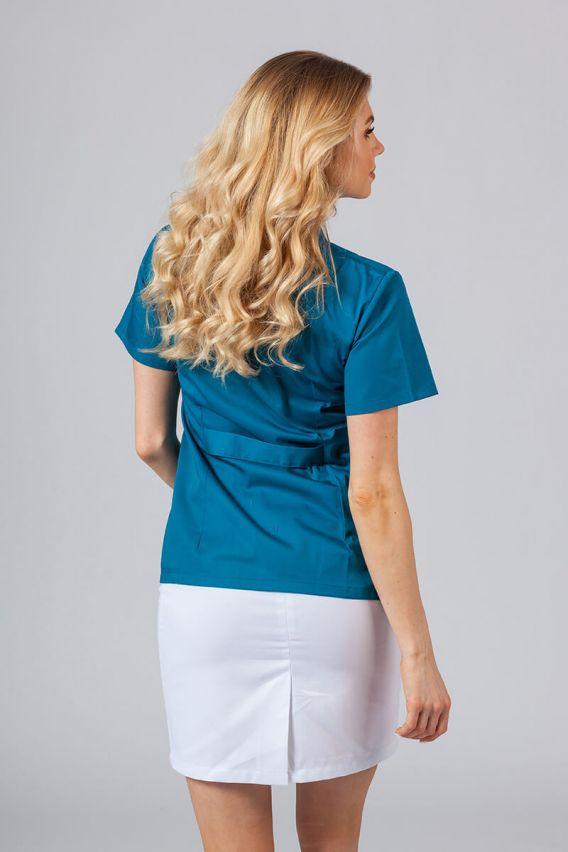 zakiety Żakiet z kołnierzem Sunrise Uniforms karaibski błękit