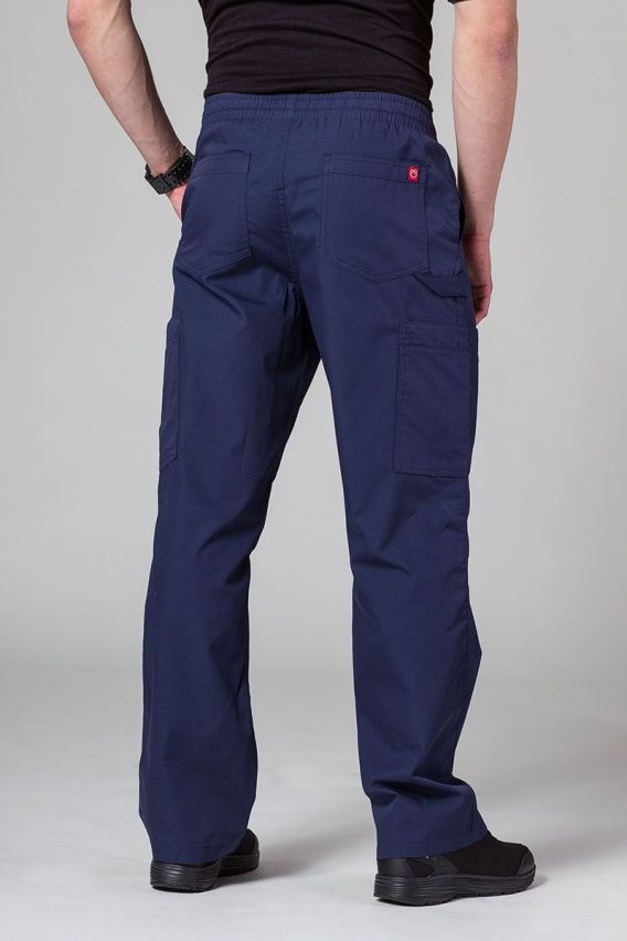 spodnie-medyczne-meskie Spodnie męskie Maevn Red Panda Cargo (6 kieszeni) ciemny granat