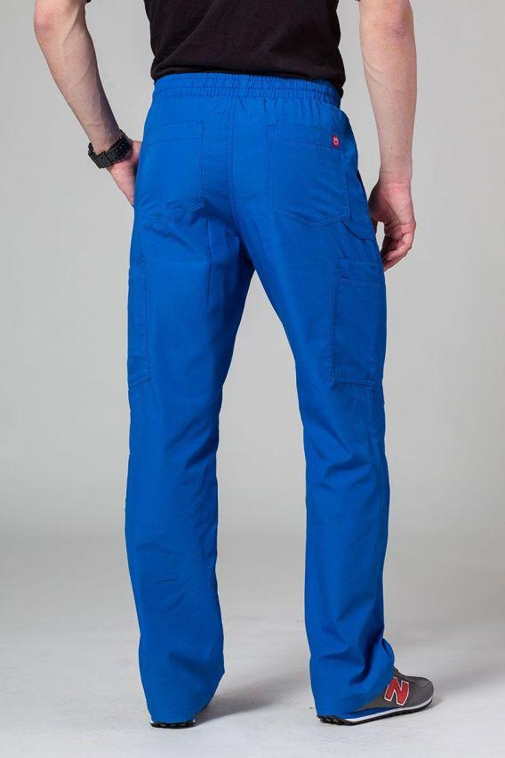 spodnie-medyczne-meskie Spodnie męskie Maevn Red Panda Cargo (6 kieszeni) królewski granat