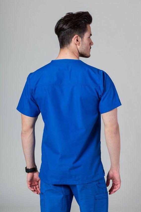 bluzy-medyczne-meskie Bluza męska Maevn Red Panda królewski granat