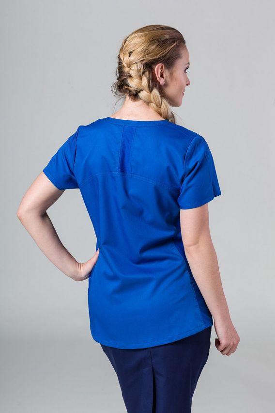 bluzy-medyczne-damskie Bluza damska Maevn EON Sporti Królewski Granat