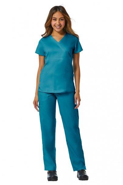 bluzy-medyczne-damskie Bluza damska Maevn EON Style morski błękit