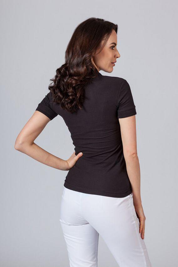 polo-damskie Koszulka damska Polo czarna