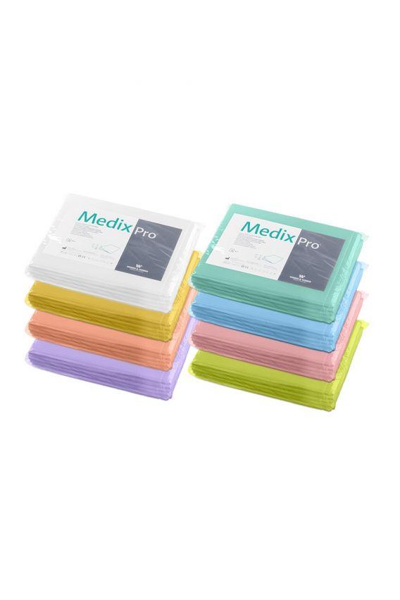 podklady-higieniczne Prześcieradła medyczne 77x210 cm bibułowo-foliowe MedixPro (Opakowanie 5 Sztuk)