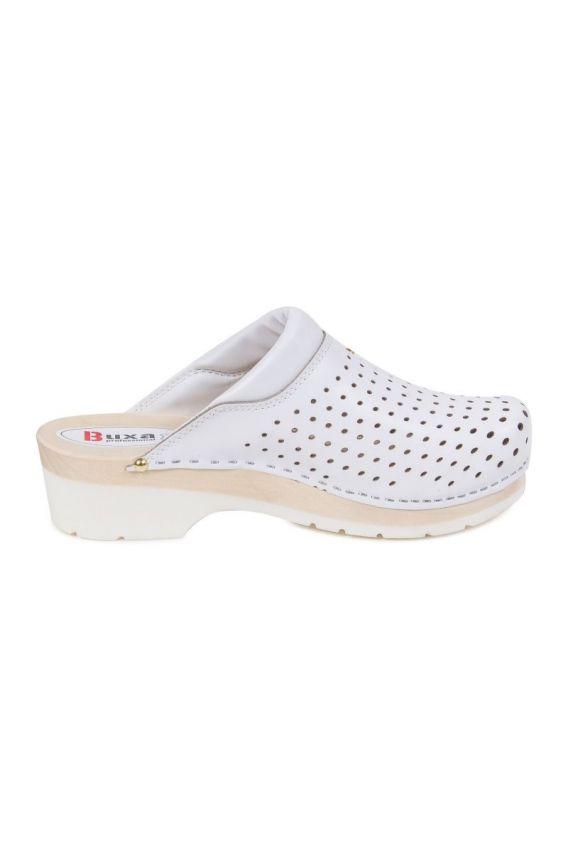 obuwie-medyczne-damskie Obuwie medyczne Buxa Supercomfort FPU11 białe