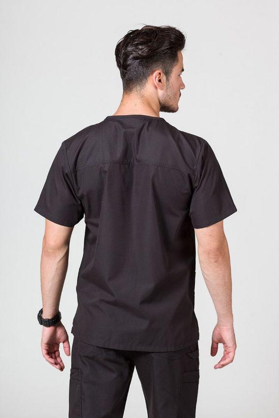 bluzy-medyczne-meskie Bluza męska Maevn Red Panda czarna