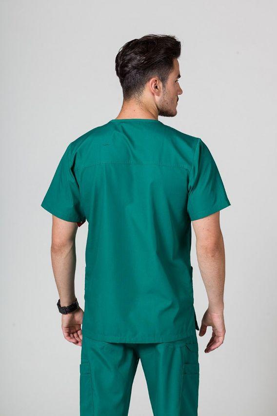 bluzy-medyczne-meskie Bluza męska Maevn Red Panda zielona