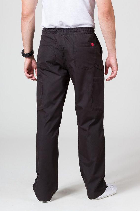 spodnie-medyczne-meskie Spodnie męskie Maevn Red Panda Cargo (6 kieszeni) czarne