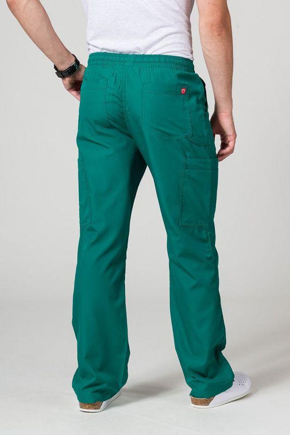 spodnie-medyczne-meskie Spodnie męskie Maevn Red Panda Cargo (6 kieszeni) zielone