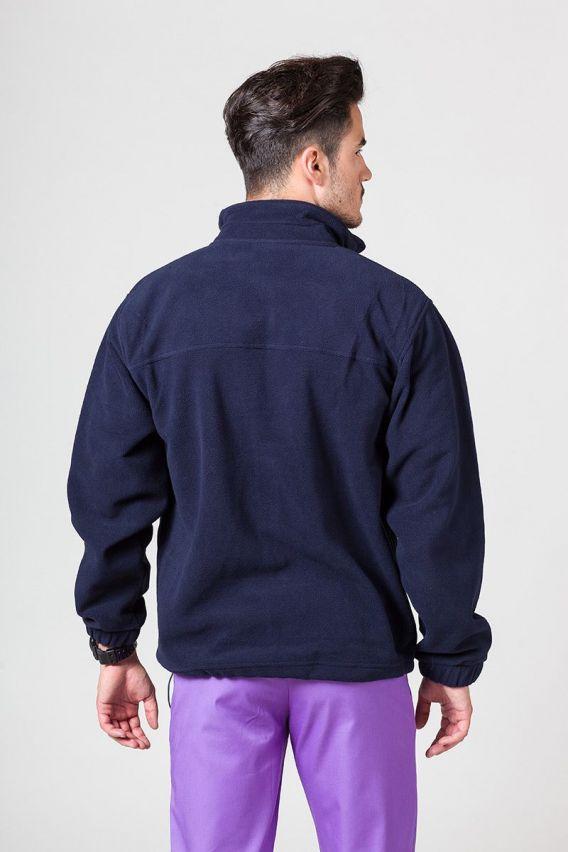 bluzy-polarowe-meskie Bluza polarowa męska granatowa