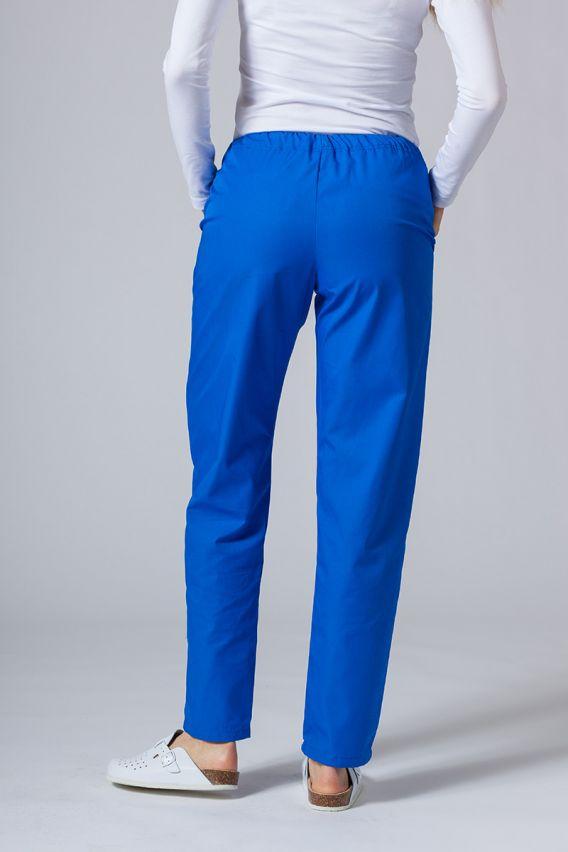 spodnie-medyczne-damskie Spodnie medyczne uniwersalne Sunrise Uniforms królewski granat