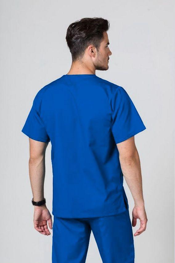 bluzy-medyczne-meskie Bluza medyczna uniwersalna Sunrise Uniforms królewski granat
