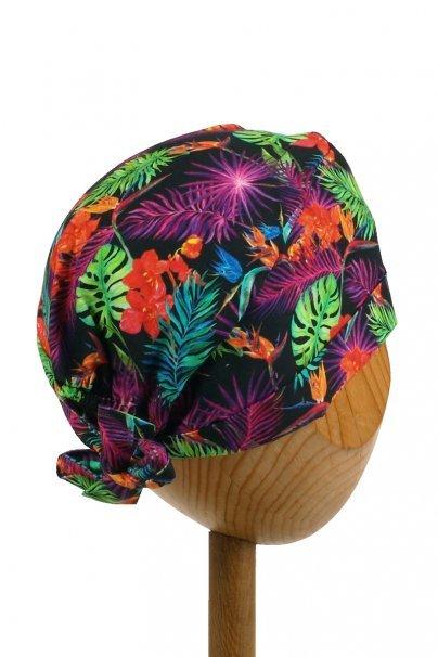czepki-damskie Czepek Sunrise Uniforms Style Unisex wywijany kolorowe liście
