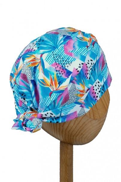 czepki-damskie Czepek Sunrise Uniforms Style Unisex kwiaty sterlicja (wywijany)