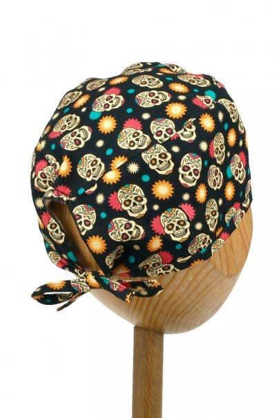 czepki-damskie Czepek Sunrise Uniforms Style Unisex radosne czaszki