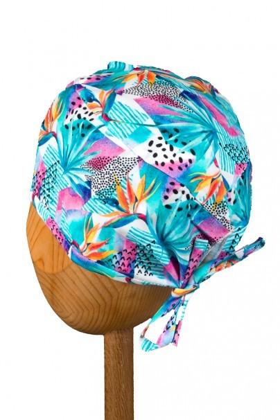 czepki-damskie Czepek Sunrise Uniforms Style Unisex kwiaty sterlicja