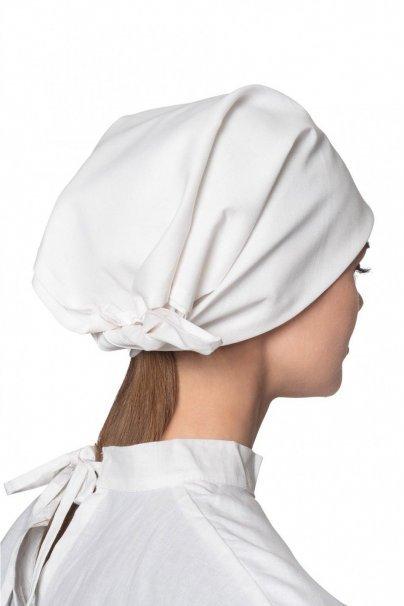 czepki-damskie Chusta medyczna biała 100% bawełna