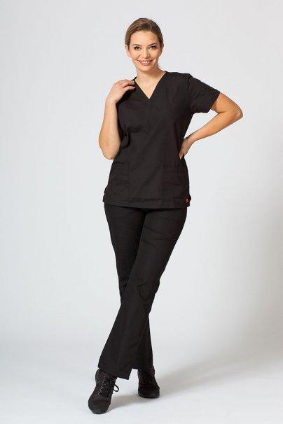 spodnie-medyczne-damskie Spodnie damskie Maevn Red Panda czarne