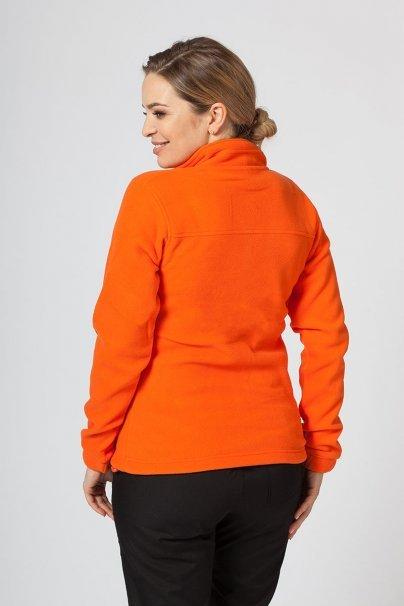 bluzy-polarowe-damskie Damska bluza polarowa Malfini pomarańczowa