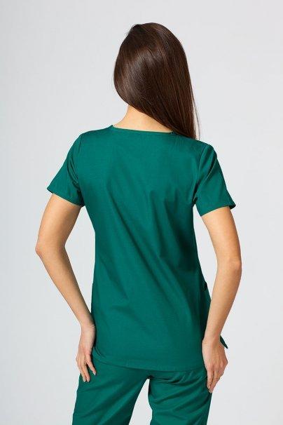 bluzy-medyczne-damskie Bluza damska Maevn Red Panda zielona
