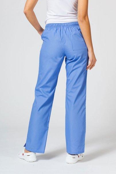 spodnie-medyczne-damskie Spodnie damskie Maevn Red Panda klasyczny błękit