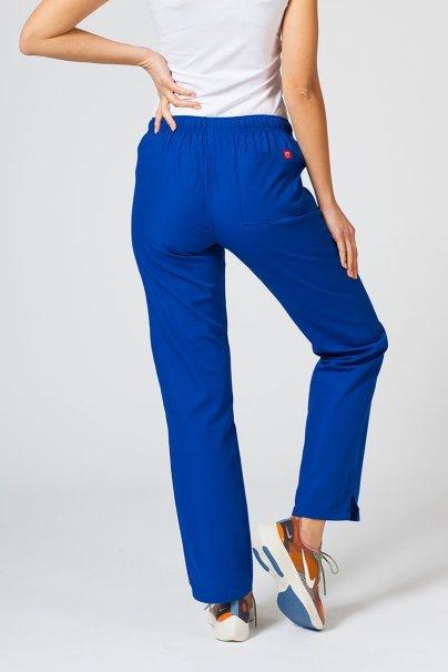 spodnie-medyczne-damskie Spodnie damskie Maevn Red Panda granatowe